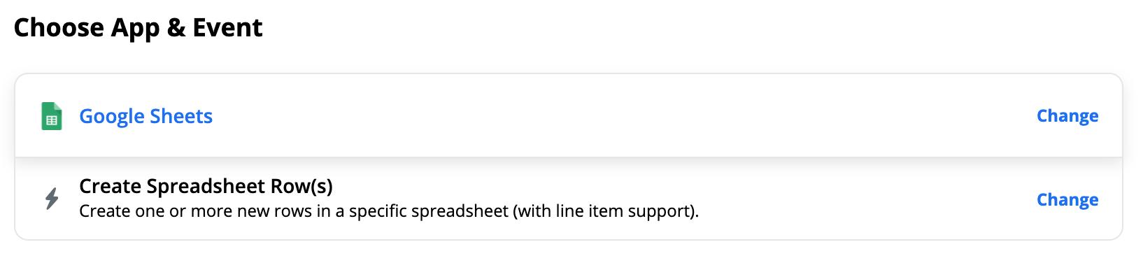 Google Sheet Create Spreadsheet rows