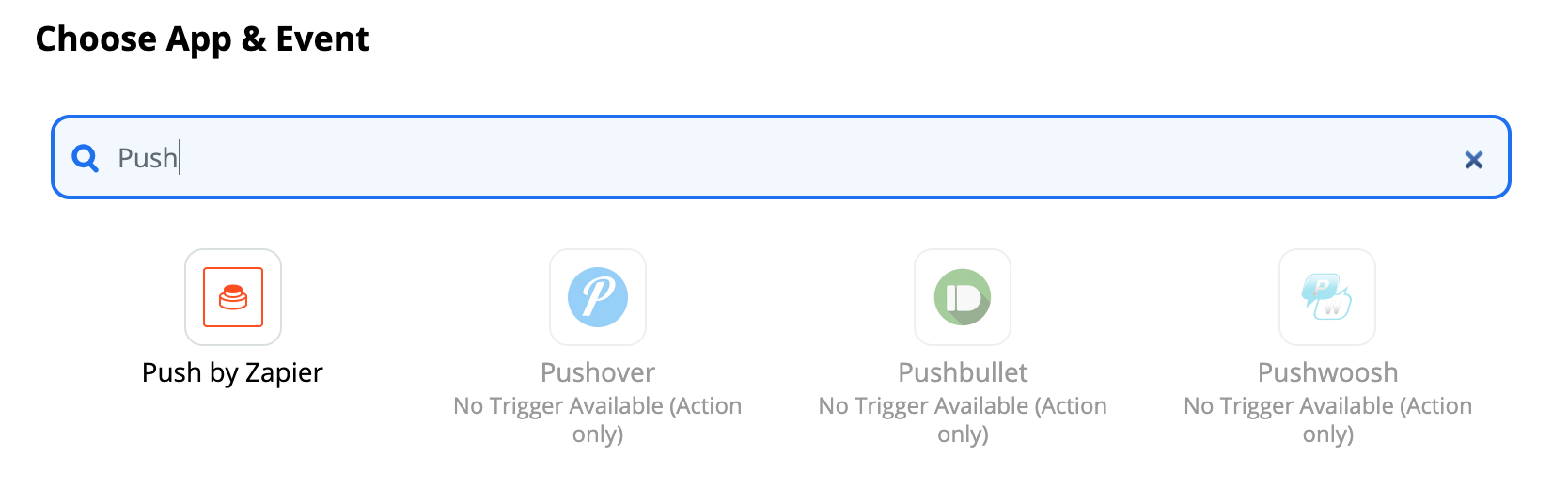 Push by Zapier
