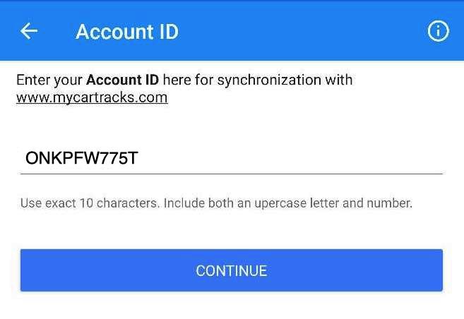 account-id-prefilled-mycartracks